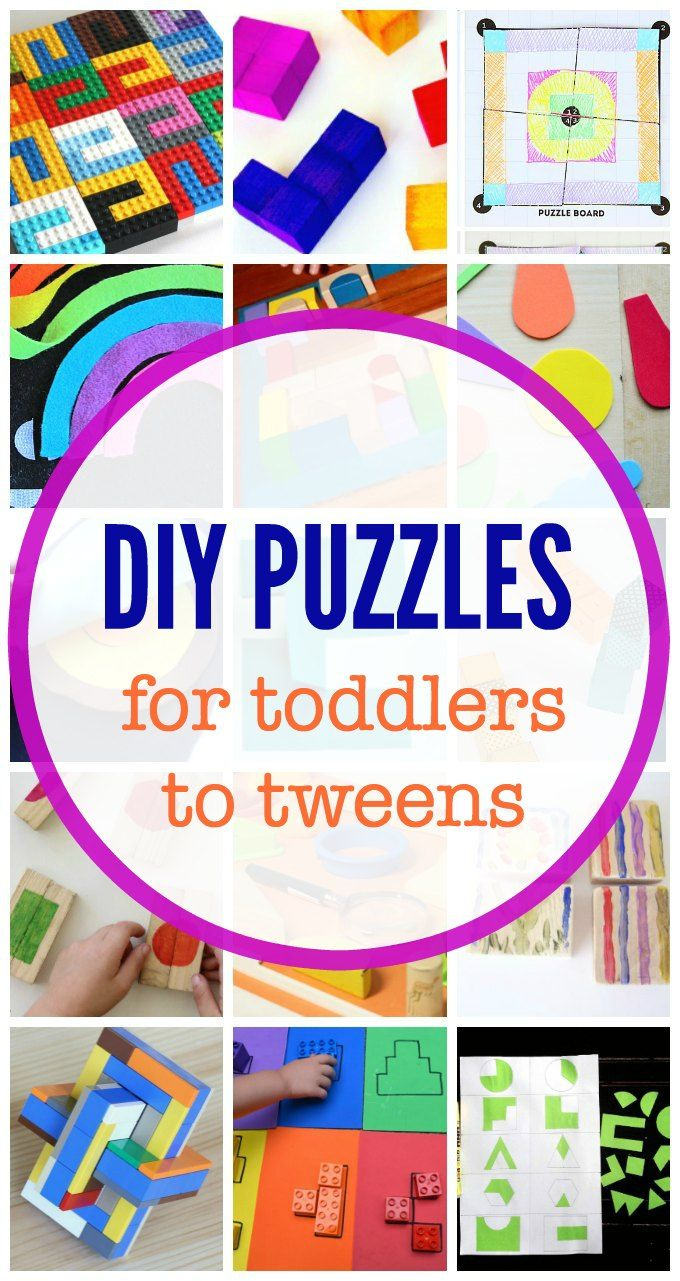 35+ Make Your Own Puzzles for Kids Ideas for all Ages