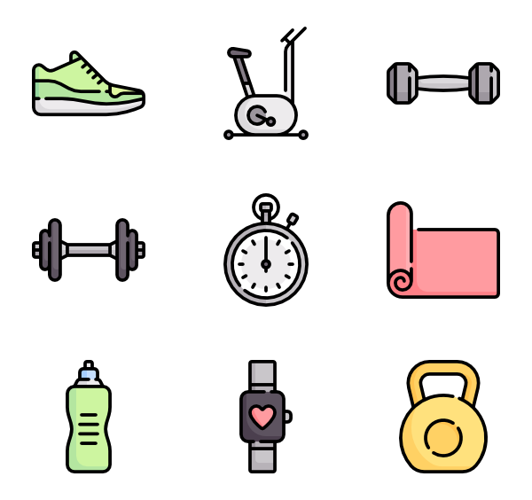 Exercise Equipments Clipart Cerca Con Google No Equipment Workout Workout Machines Exercise