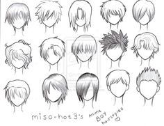 The Gallery For Realistic Drawing Of A Teenage Boy Anime Character Drawing Anime Boy Hair Manga Hair