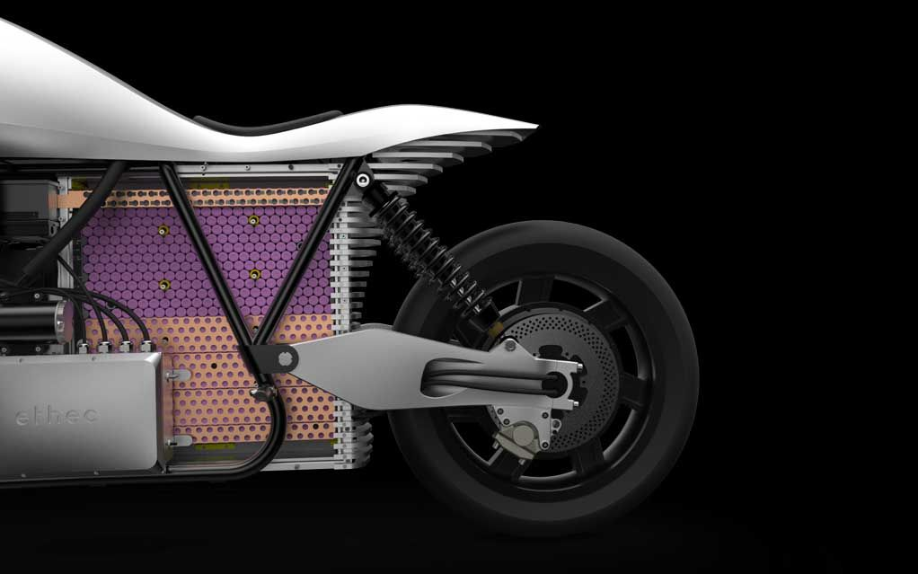 Electric Motorcycle Ethec Built By Zurich Students Offers 400 Km