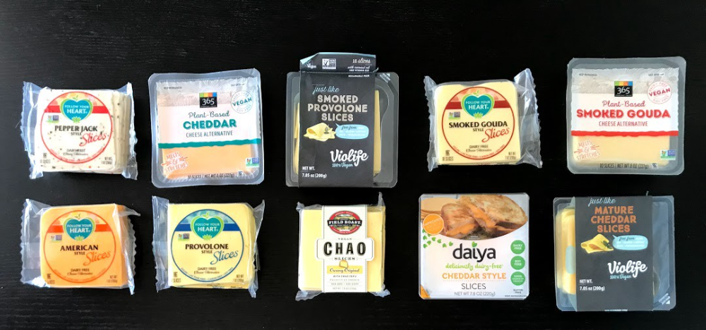 These Are The Best Vegan Cheese Slices Vegan Cheese Best Vegan Cheese Raw Snacks