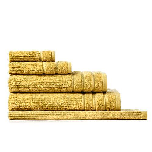 Bath Towels Home Republic Flinders Egyptian Mustard Adairs Mustard Bedding Towel Yellow Towels