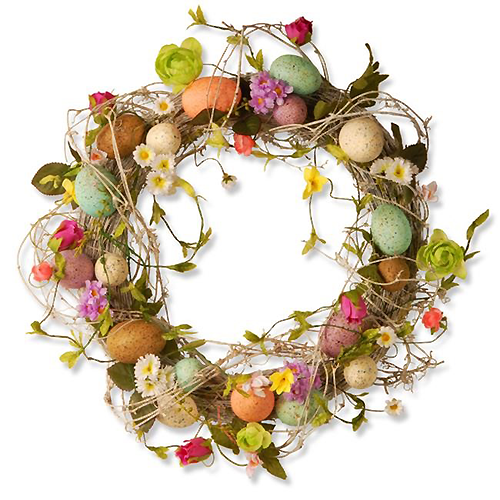 Easter Wreath: We-Care.com will donate a portion of every purchase to charity!