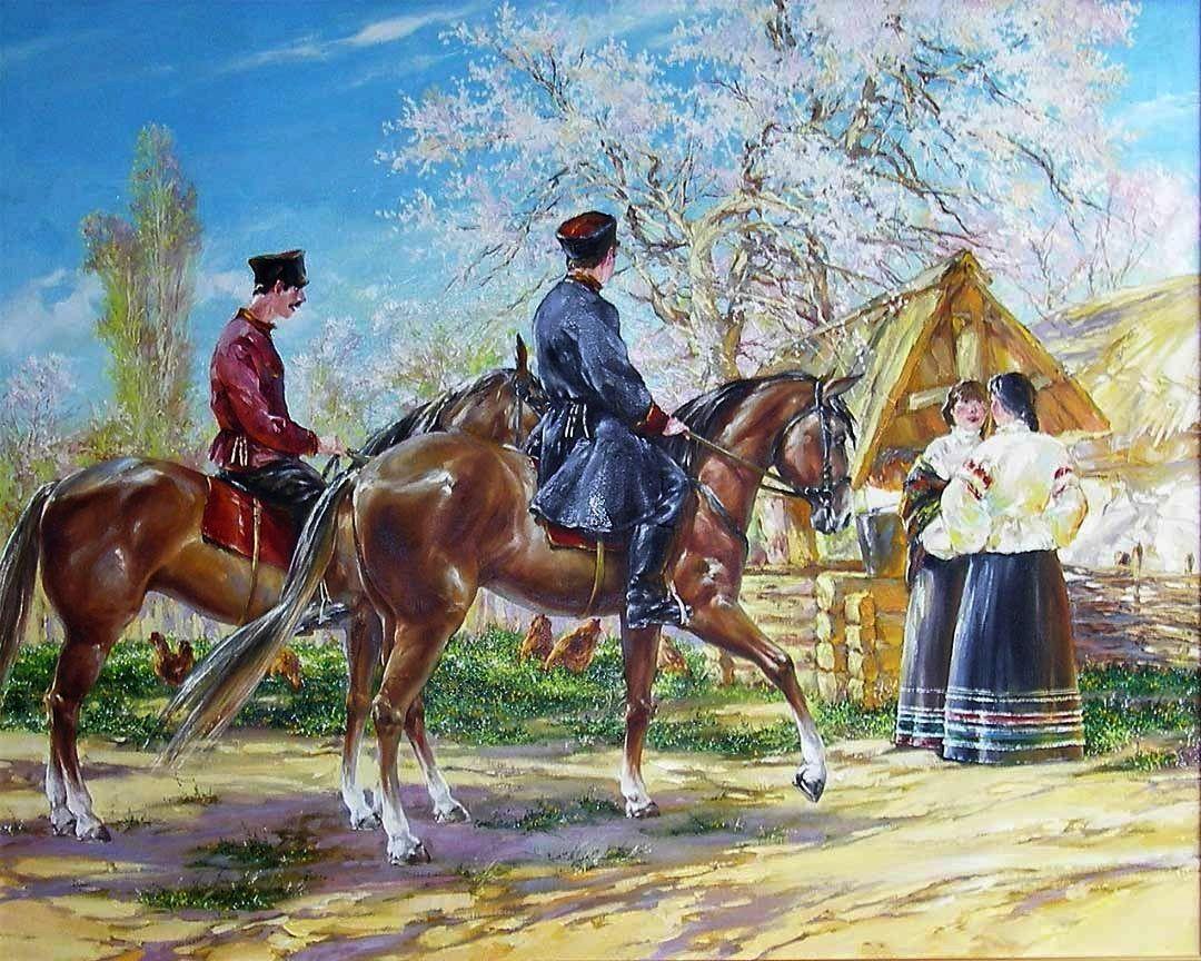 Открытки казаки и казачки, открытка февраля мужчинам