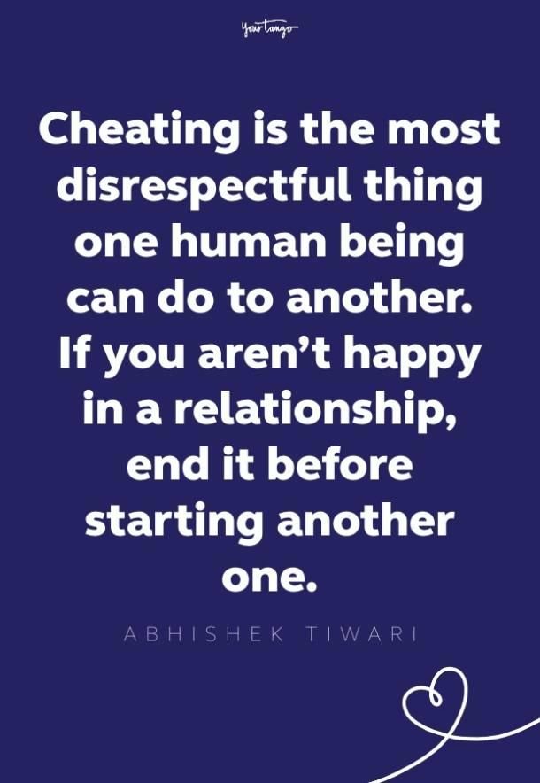 70 Cheating Quotes To Remind You Why You Should Never Take Back A Cheater