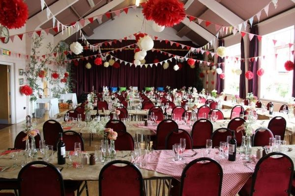 Beautiful Home Made Decorations Wedding Venue Chesterfield