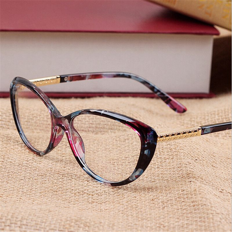 90356f33bc Click to Buy    10pcs lot Hot Brand designer glasses women Spectacle ...