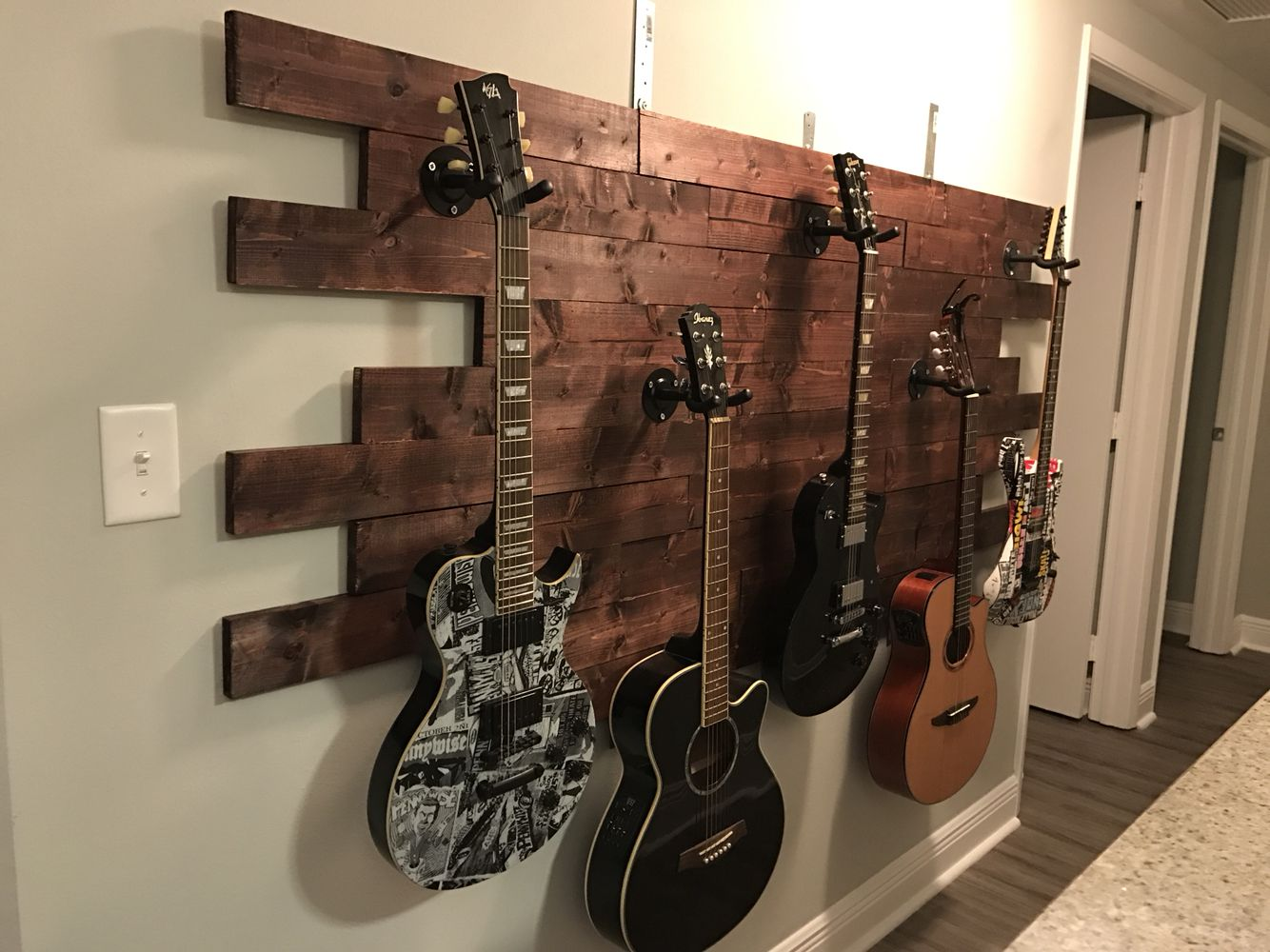 Guitar Decor For Bedroom The 25 43 Best Guitar Display Wall Ideas On Pinterest
