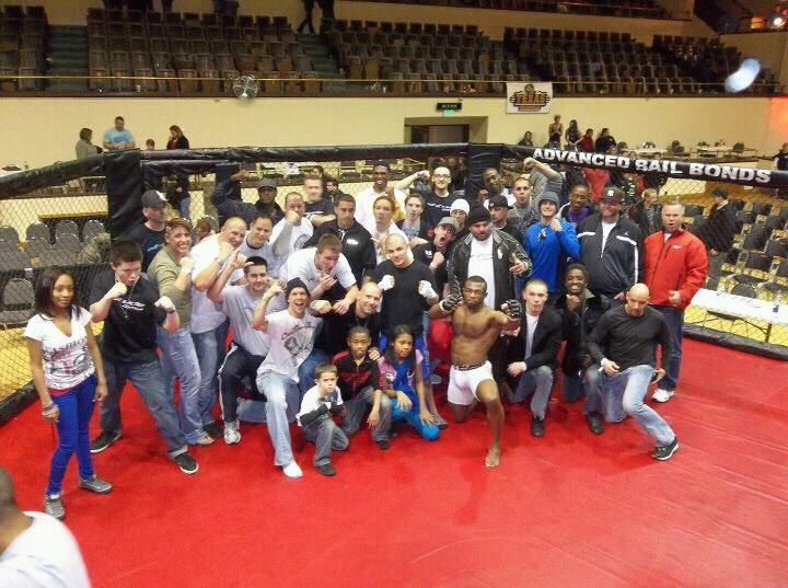 Team Altitude After An Epic Night Of Wins Tournaments Competition Mma