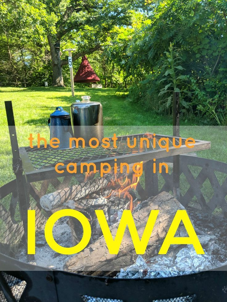 Photo of The Most Unique Camping Adventures in Iowa