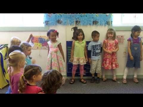 Hannah S Pre School Graduation Performance 1 Skit Preschool