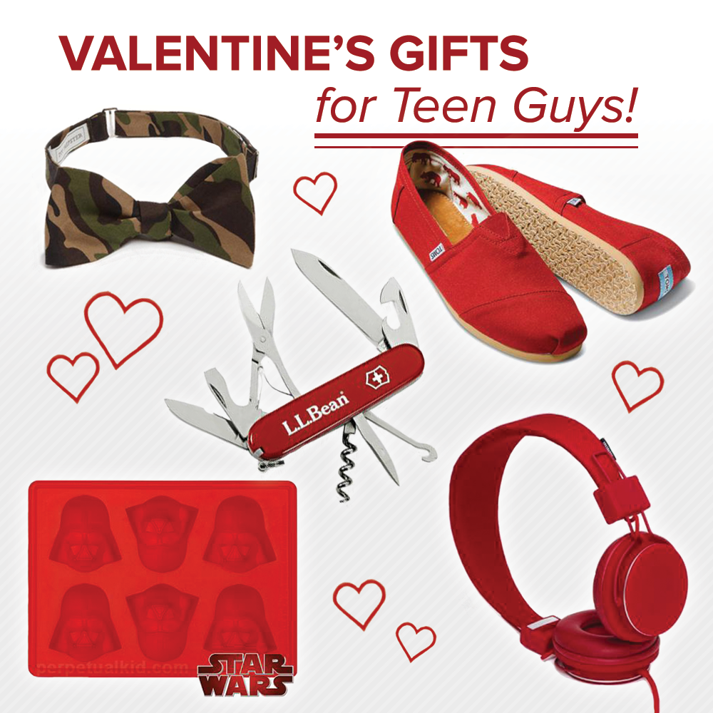 Valentine's Gifts For Teen Guys! On: http://blog.gifts.com/gift ...
