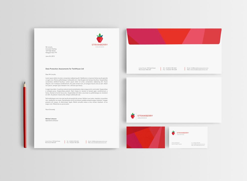 Letterhead, envelope and business card design | Graphic Design ...
