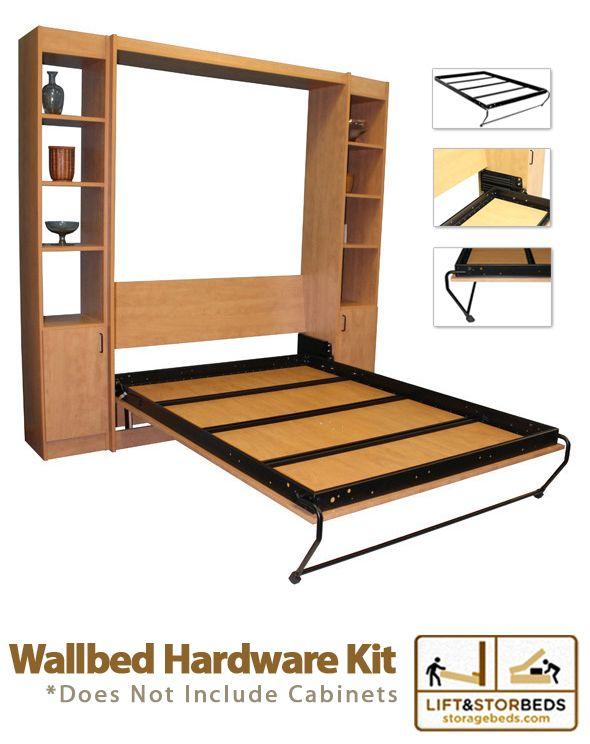 Diy Wall Bed Hardware Kits Diy Living Space Improvements Bed