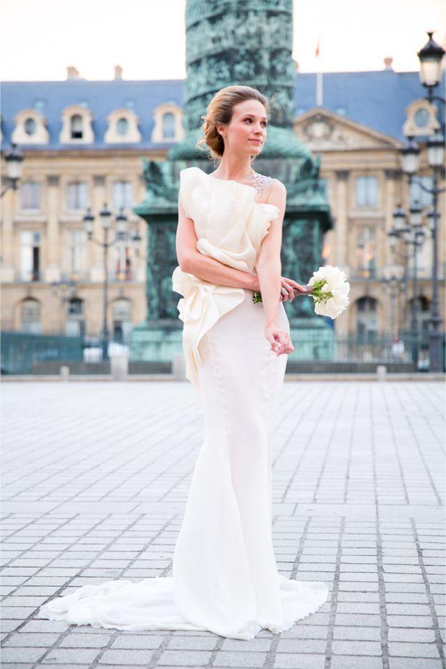 Fabulous Architectural Details for Your Wedding Dress   Boda, París ...