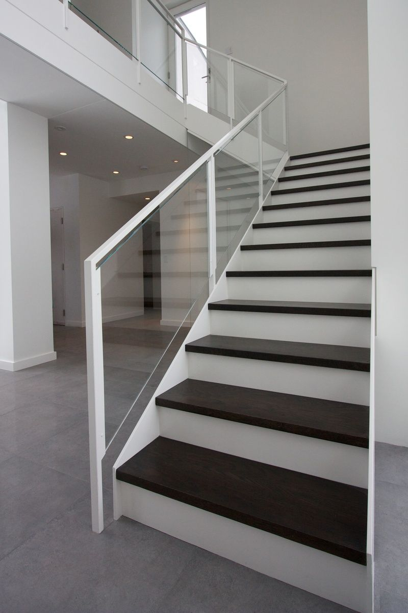 Best Modern Railings Custom Stairs Chicago Modern Staircase 400 x 300