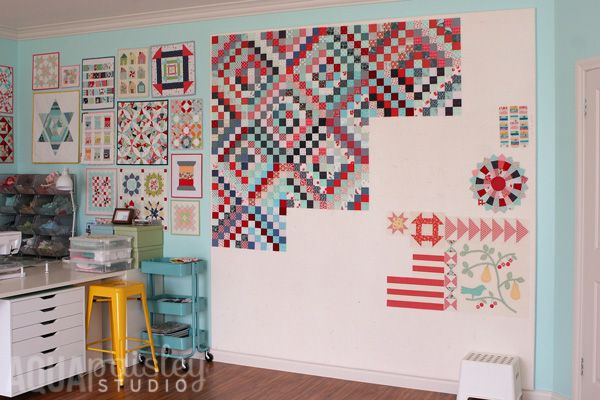 How To Make A Quilt Design Wall For Your Sewing Room or Home Studio -   24 sewing crafts room