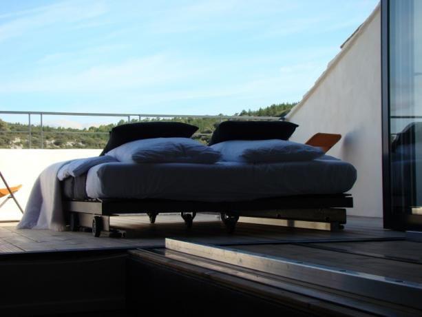 dormir à la belle étoile Metafort, chambre d\u0027hôtes design en - Hotel Avec Jacuzzi Dans La Chambre