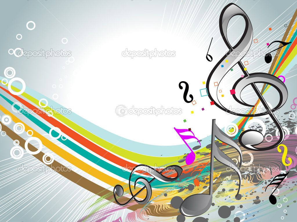 Colorful Music Desktop Backgrounds