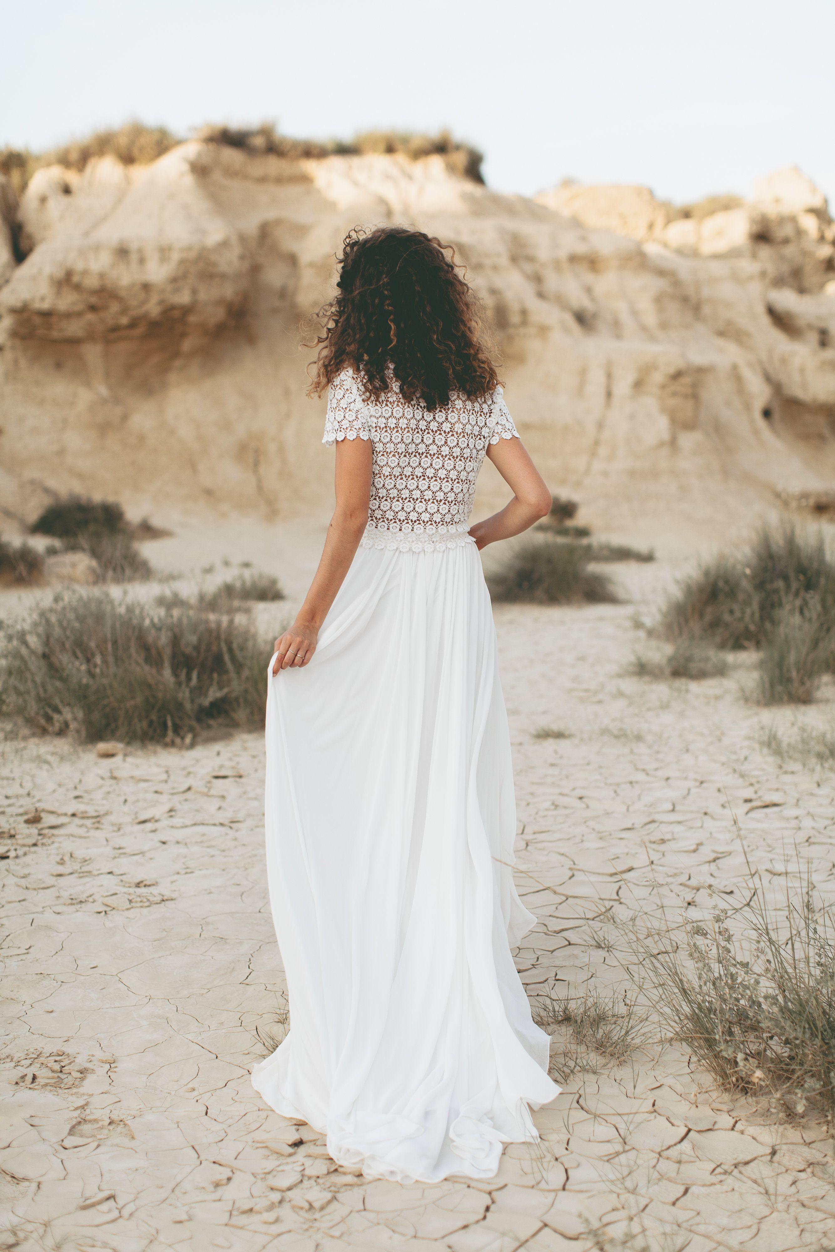 10+ Vintage boho wedding dress ideas