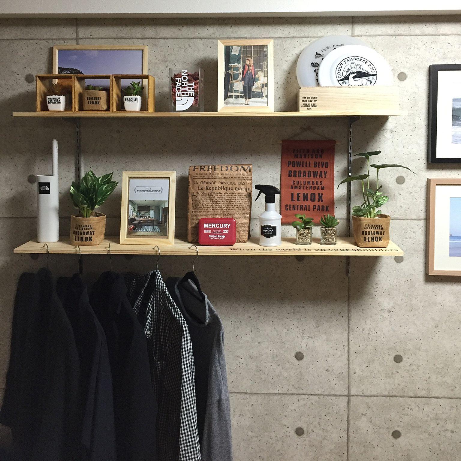 壁 天井 フェイクグリーン セリア Diy 壁紙屋本舗 などのインテリア