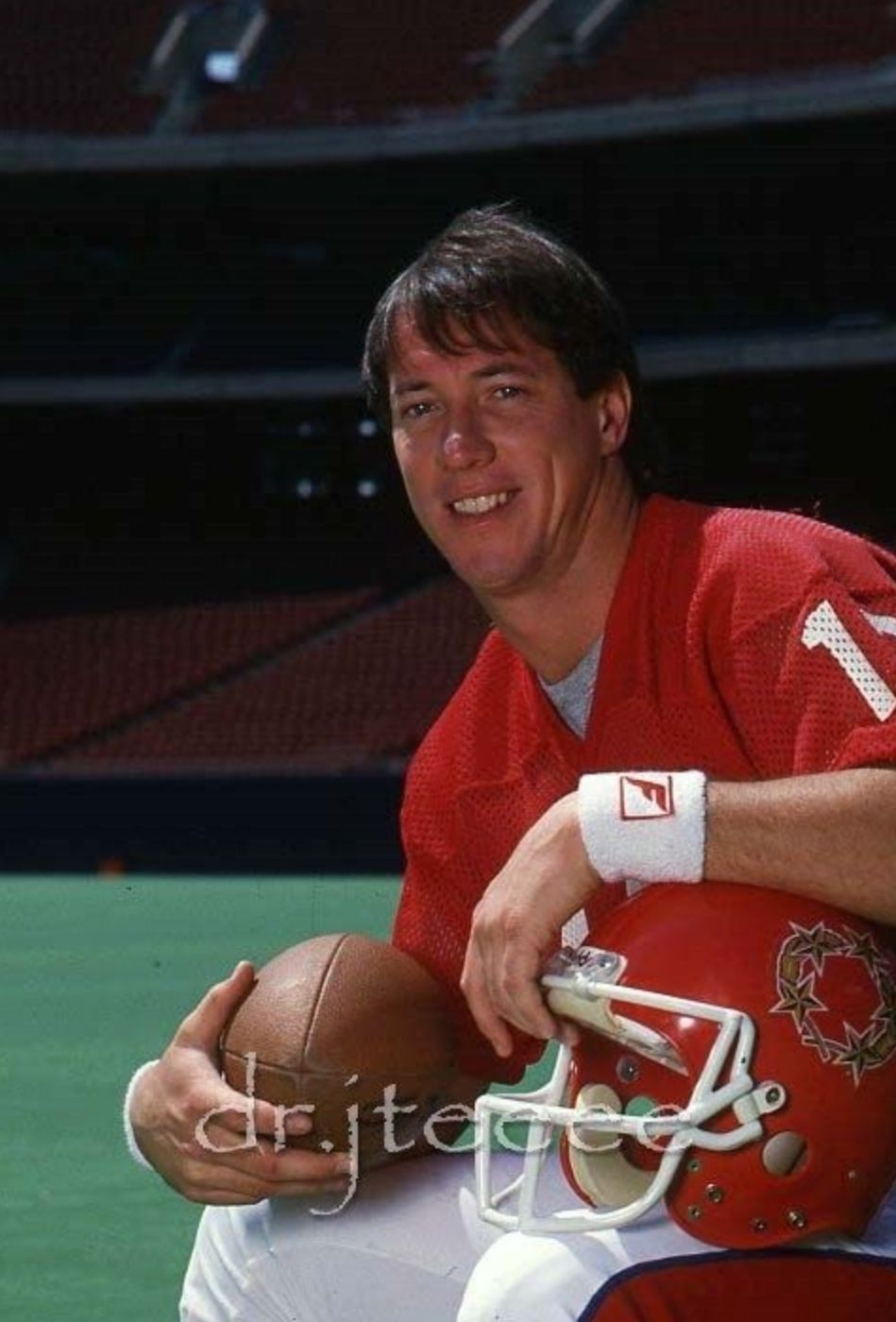 Jim Kelly USFL's New Jersey Generals one of that