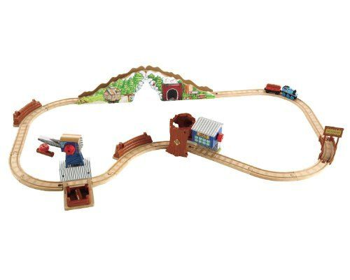 Thomas Friends Wooden Railway Tidmouth Timber Company Deluxe