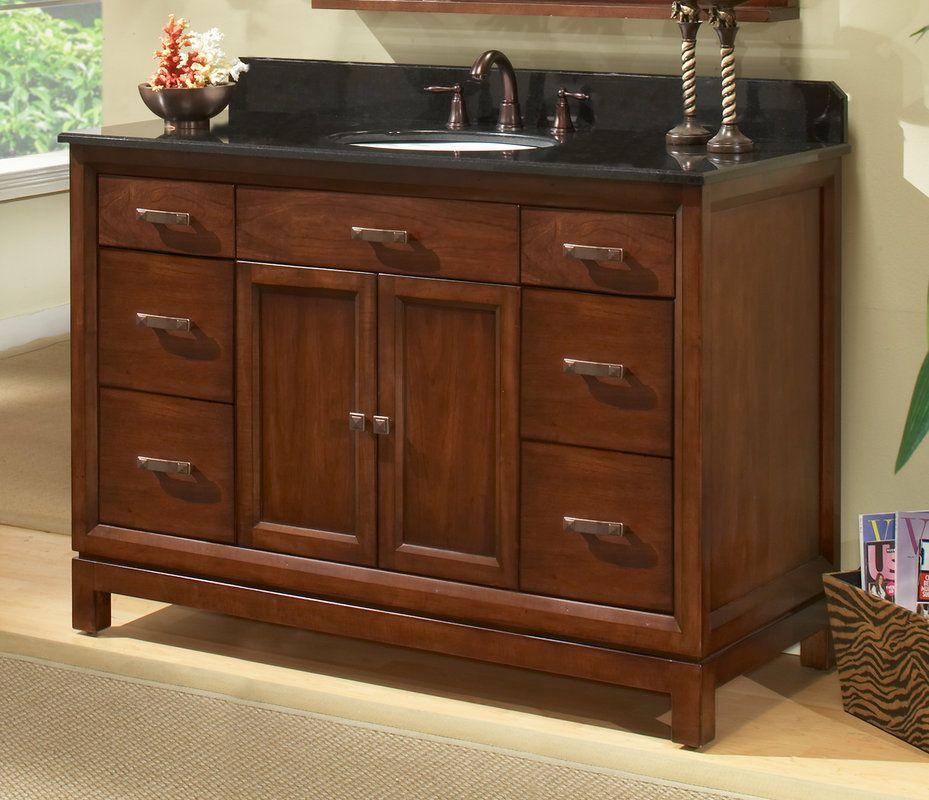 Sagehill Designs Md4821d Modena 48 Solid Maple Build Com Single Sink Bathroom Vanity Vanities Without Tops Base