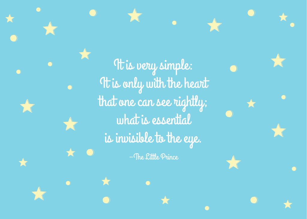 Quotes From The Little Prince The Little Prince Quote Antoine De Saintexupéry  Words Of Wisdom .