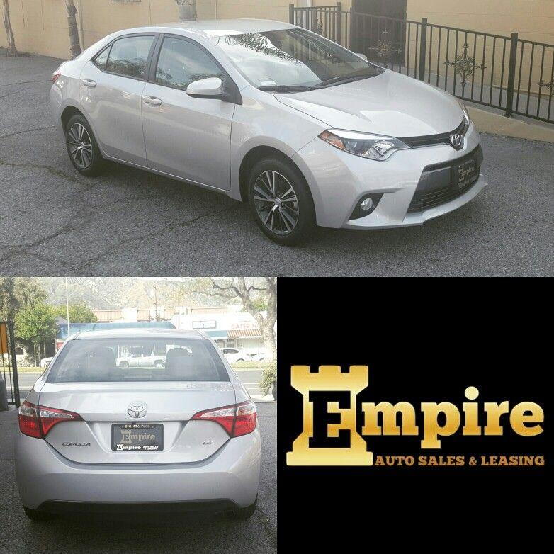Empire Auto Sales >> Congratulations Christ On Your Brand New Toyota Corolla