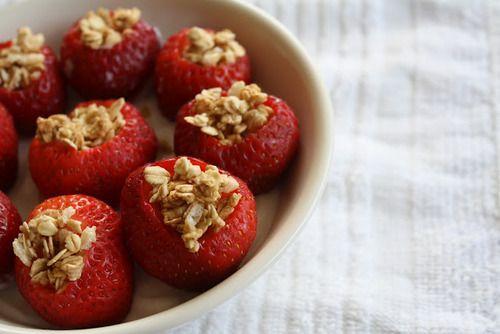 fraises avoine