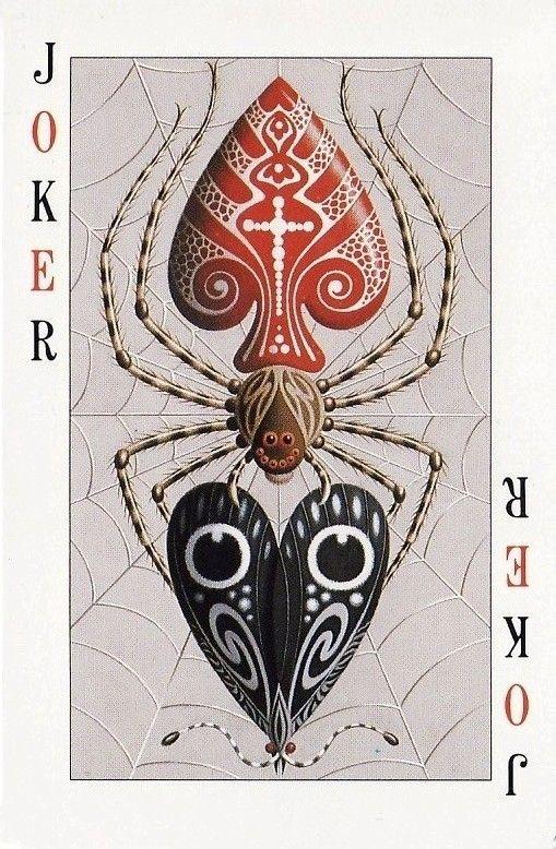 Spider poker card