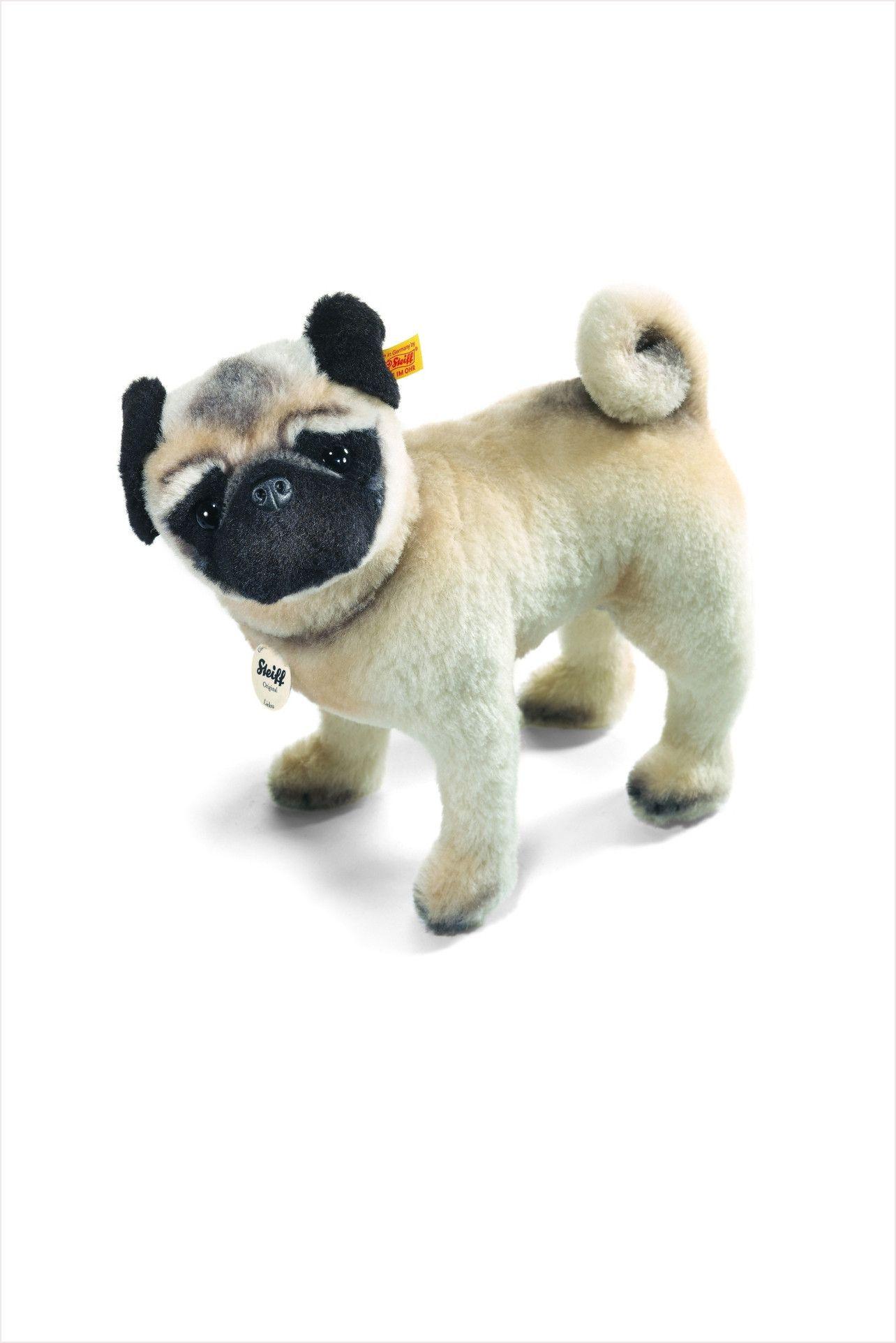 Steiff Lielou Pug Dog Toys Pugs Animals