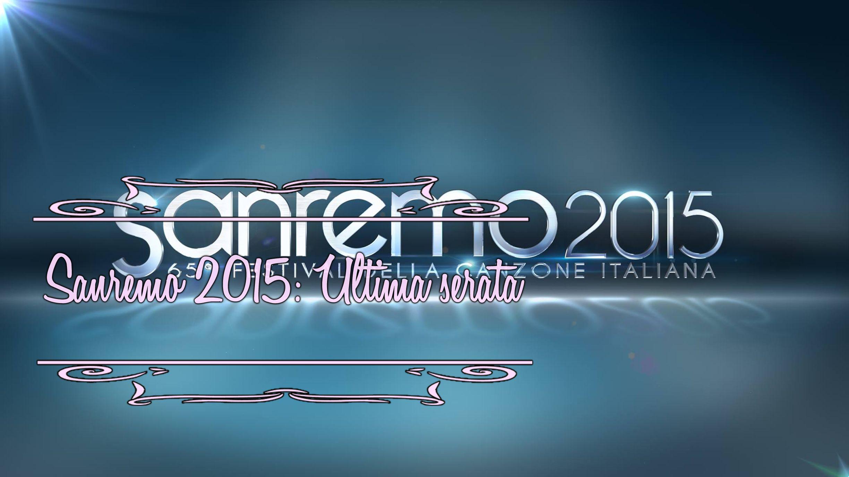 Recensione dell'ultima serata di #Sanremo2015... Qui--> www.booklosophy.com