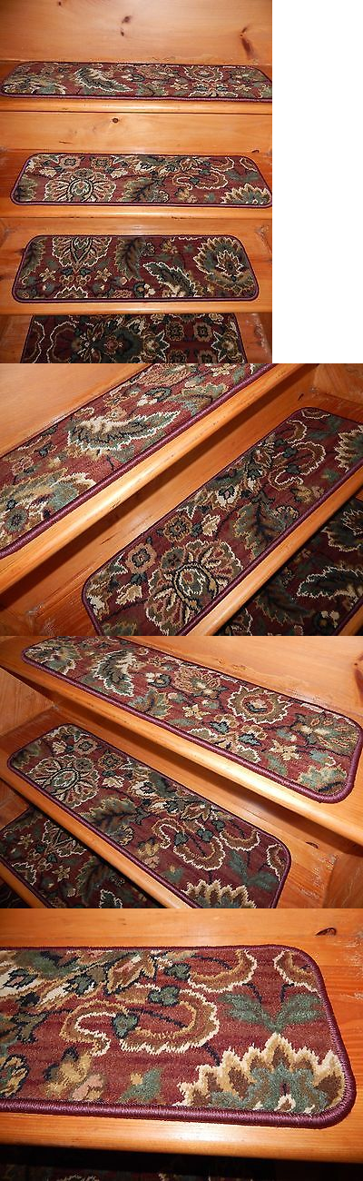 Stair Treads 175517: 13 U003d Steps 9 X 30 Stair Treads Staircase Woven Wool .