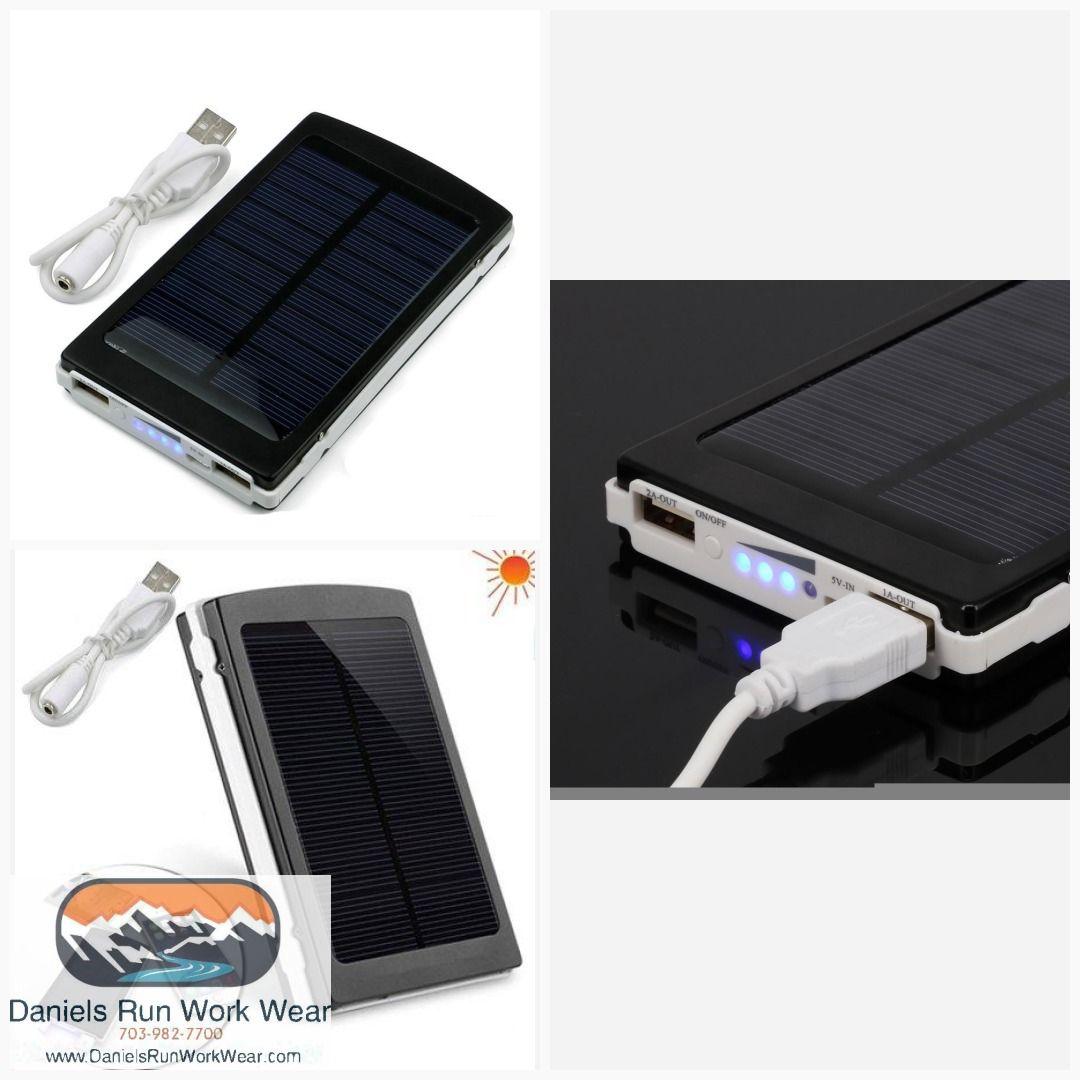 Imeshbean Solar Charger 50000mah Solar Power Bank 10000mah External Backup Battery Pack Dual Usb Sola Solar Panel Charger Solar Power Bank Solar Power Charger