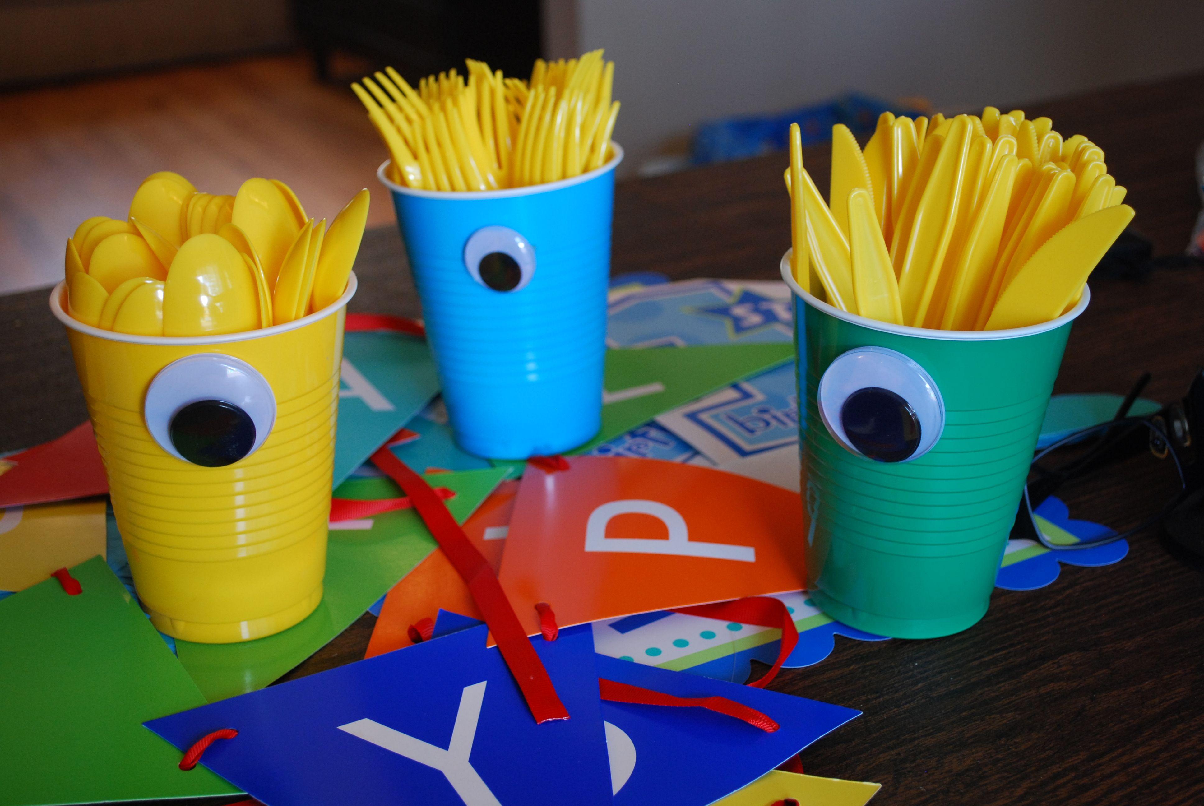 monster party birthday ideas decorations 1st birthday boy My DIY