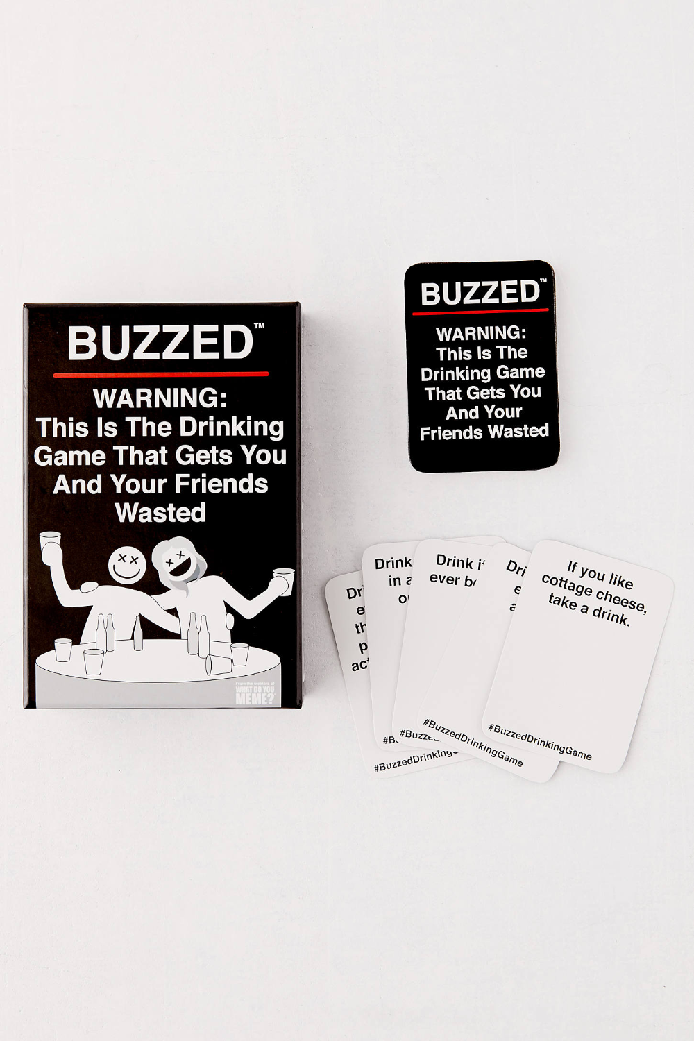 Buzzed First Expansion Pack Party card games, Dinner