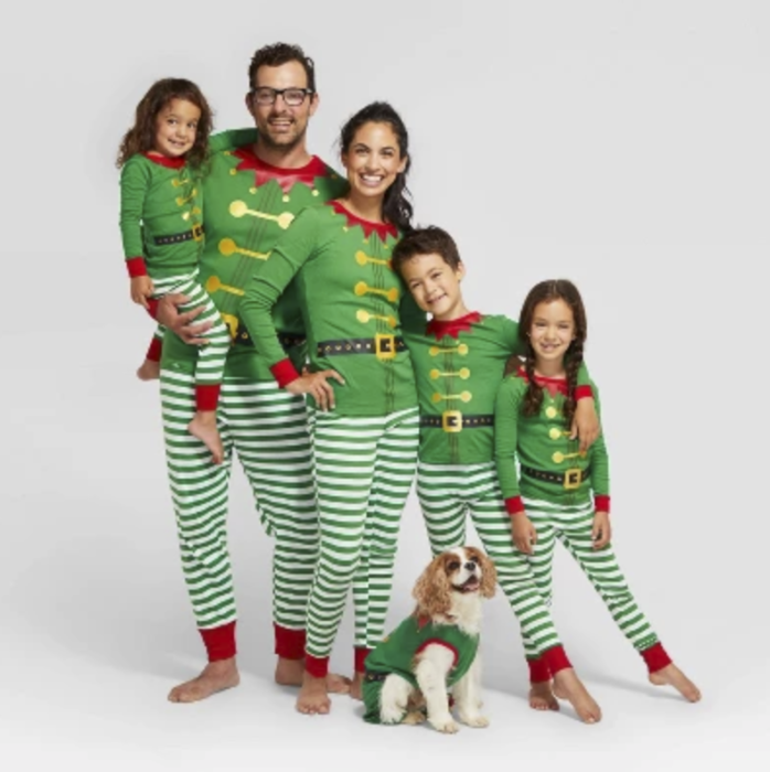Target Has Matching Christmas Pajamas For The Entire