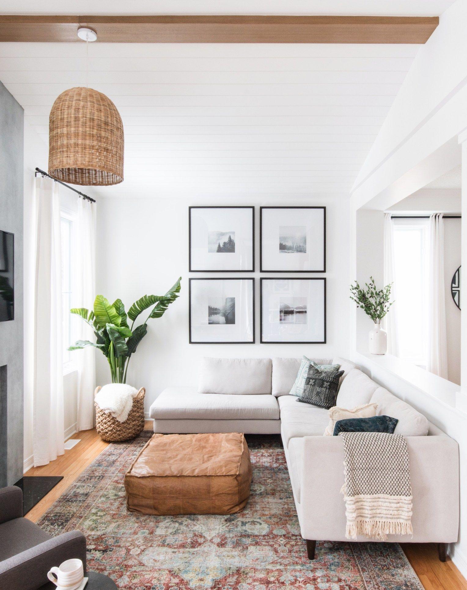Le Clair Decor Family Room Living Room Decor Neutral Interior Design Living Room Living Room Interior