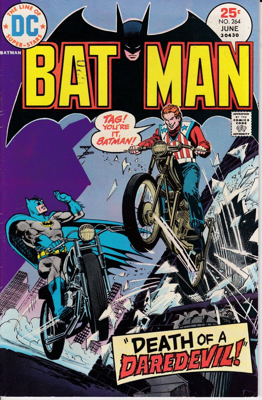 Batman 264 june 1975 dc comics grade fine with images