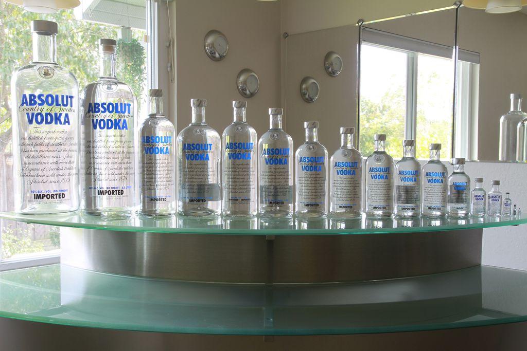Absolut vodka - bottle sizes | Vodka bottle Vodka Vodka ...