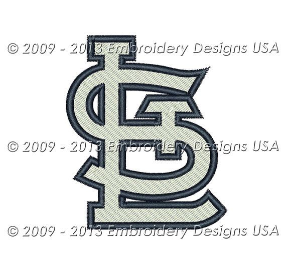 Instant Download St Louis Cardinals by EmbroideryDesignsUSA, $4.00 ...