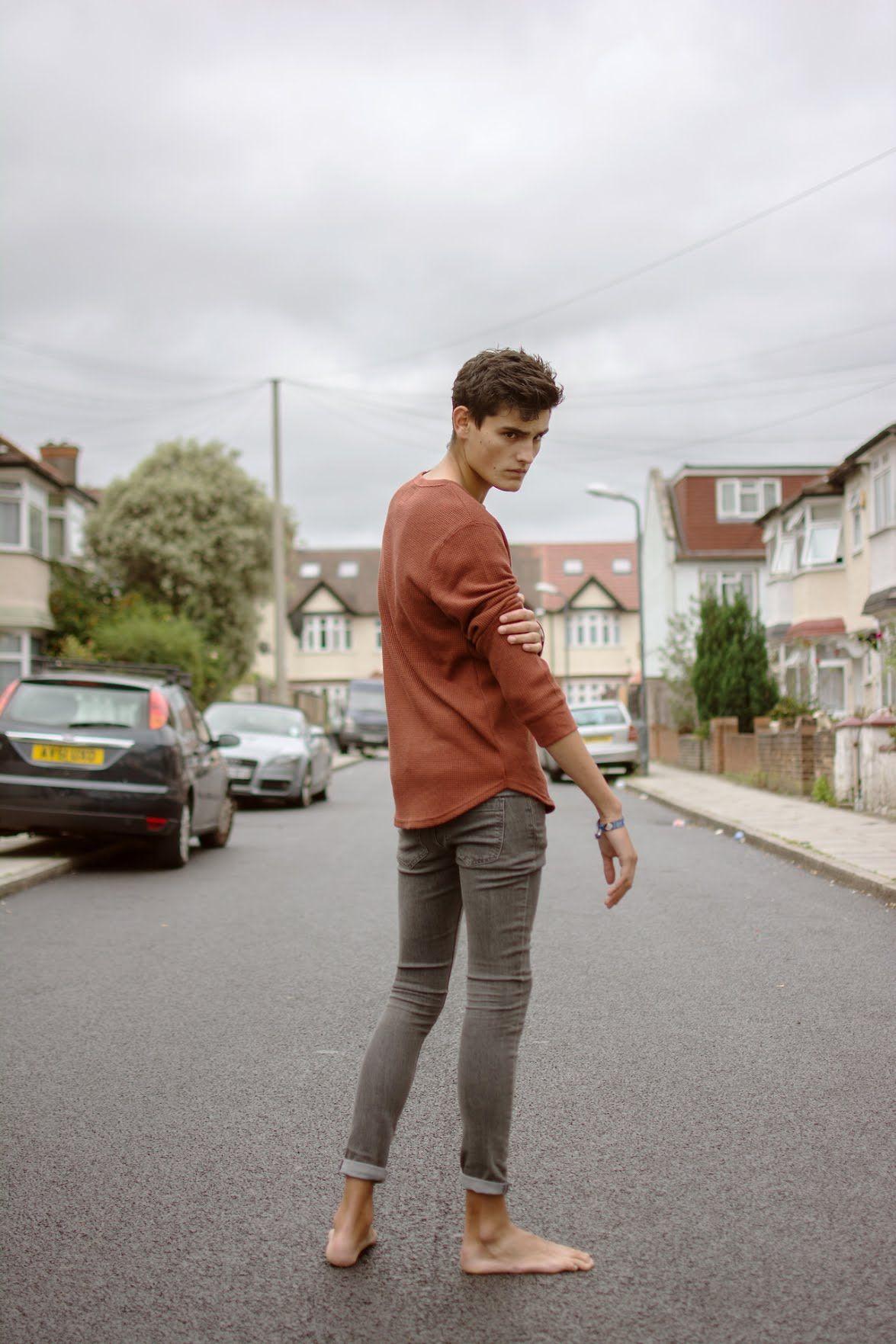 Ivor Legoff — flipflopmoves: Barefoot Style Barefoot in Norfolk... Male  Feet,