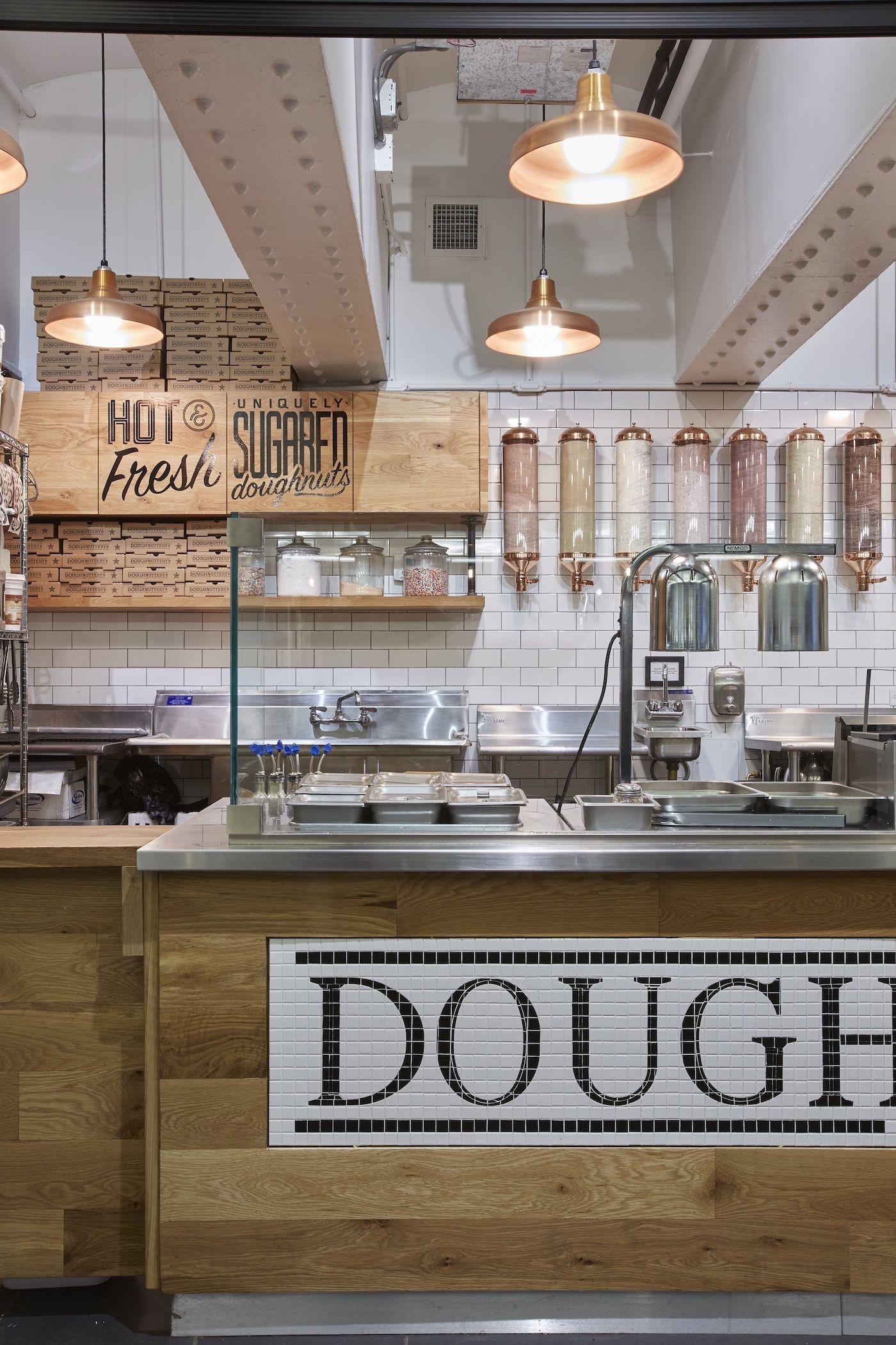Doughnuttery   Donut Shop Lighting   Barn Light Electric on ...