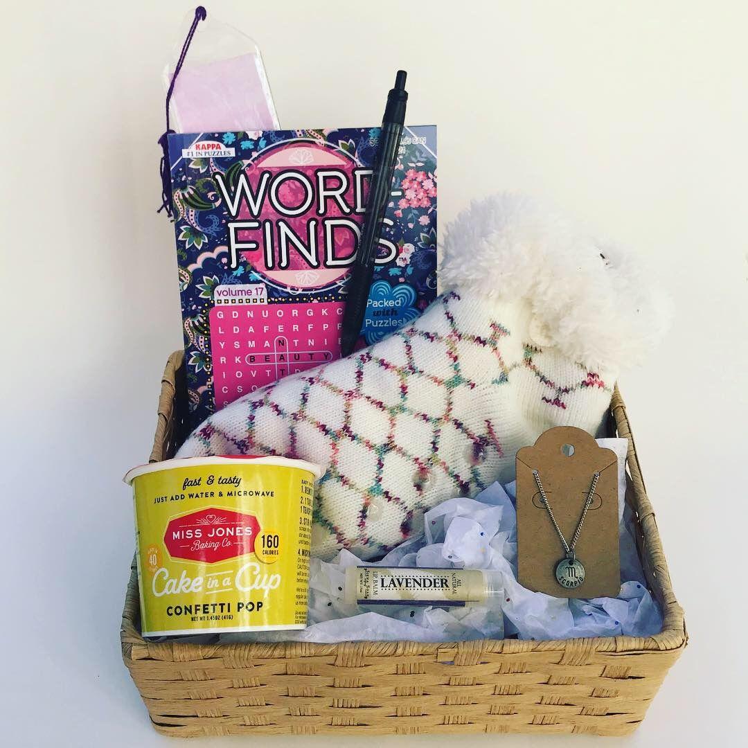 Scorpio Birthday Gift Basket