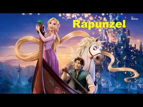 "Сказка на английском языке ""Рапунцель"". A fairy tale ..."