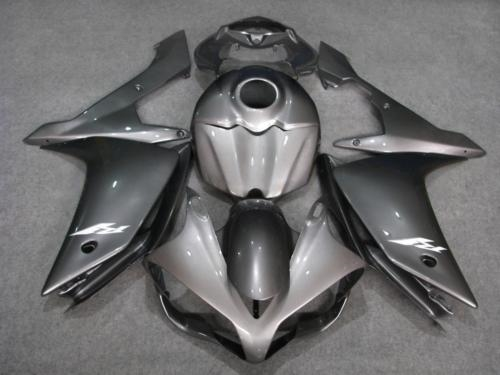 389.67$  Buy here - http://ali772.worldwells.pw/go.php?t=32609503003 - Motorcycle Fairing kit for YAMAHA YZFR1 07 08 YZF R1 2007 2008 YZF1000 yzfr1 07 08 ABS black grey Fairings Set+7gifts YG65 389.67$
