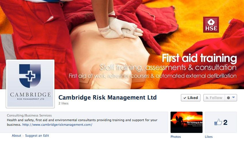 Cambridge Risk Management  Account SetUp Account Management