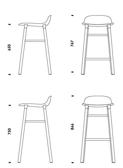 mesas y sillas de bar en autocad